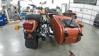 2020 2WD Ural GearUp Assembly