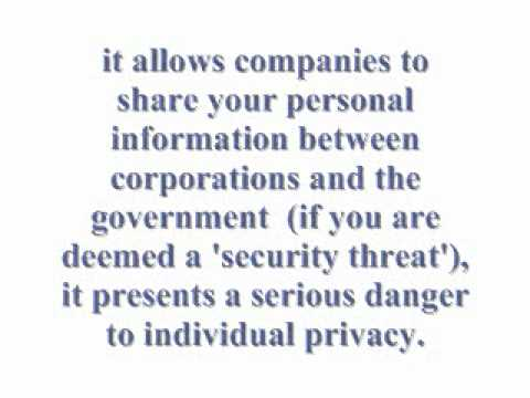cyber intelligence sharing and protection act essay Cybersecurity bill could 'sweep away' internet users' privacy, agency warns homeland security admits cybersecurity information sharing act raises concerns while corporations and data brokers lobby.