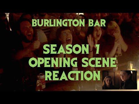GAME OF THRONES Reactions at Burlington Bar S07E01 // Season 7 Opening Scene \\