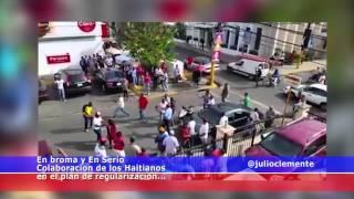 Colaboración de los Haitianos con el Plan de Regularización...