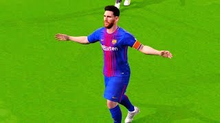 Barcelona vs Real Betis 5-0 (Messi 4 Goals) 20 August 2017 Gameplay