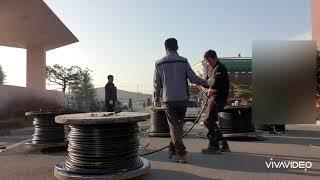 [핑크대디TV]극한직업 전기공사_케이블포설_F-CV-1…