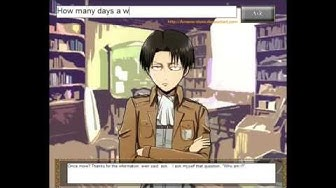 Levi Plays Levi Chat Simulator LeviBot