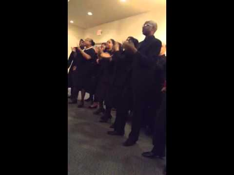 Awesome choir in Cleveland Ohio ...God won't fail