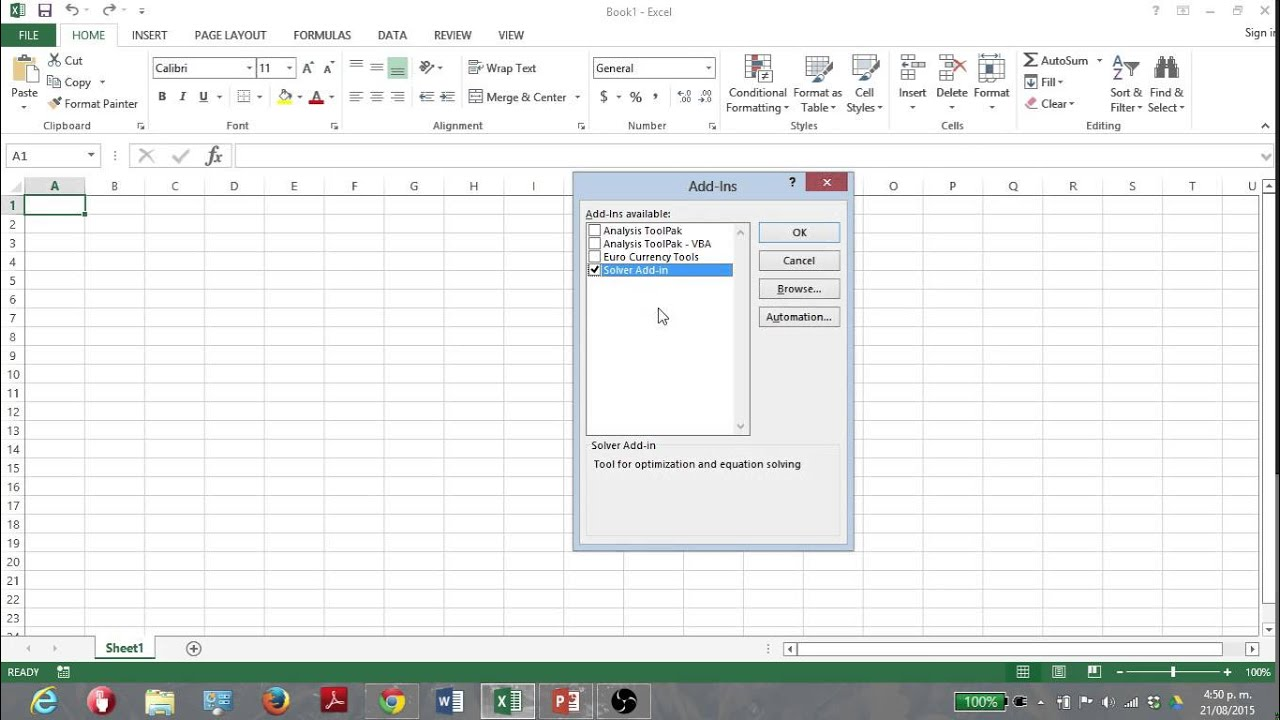 writing macros in excel 2013