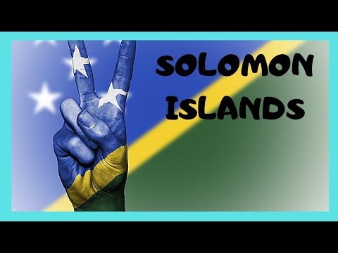 THE SOLOMON ISLANDS, a tour of the busy capital of HONIARA