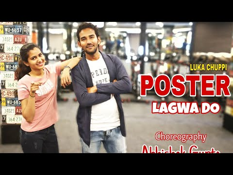 Poster Lagwa Do   Luka Chuppi   Kartik Aaryan, Kriti Sanon   Mika Singh   Abhishek Gupta