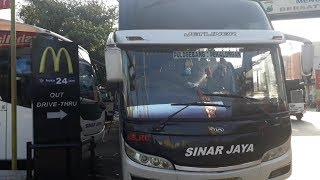 Trip Tegal Ke Jakarta naik SINAR JAYA 85 RC | suuuooossssss.... JetLINER Tegal-Jakarta