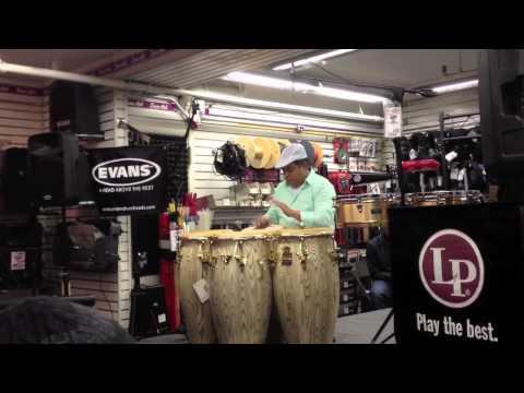 Giovanni Hidalgo Reveals His Secrets - SamAsh Masterclass NYC