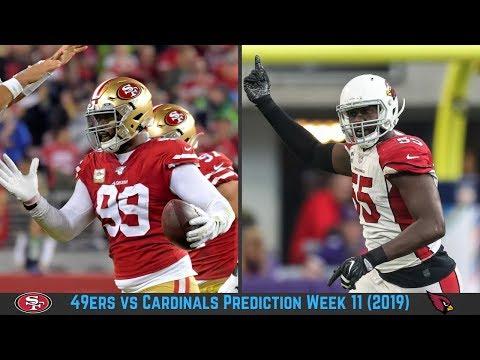 san-francisco-49ers-vs-arizona-cardinals-prediction-week-11-2019