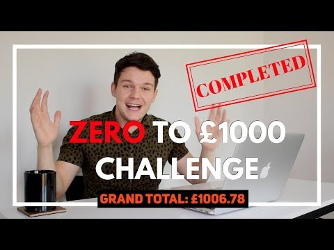How To Make Money Online : ZERO To � Challenge