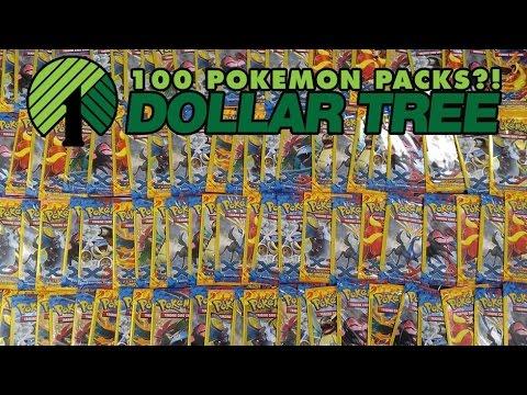 Dollar Tree Pokemon Card Packs