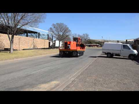 HUD Mining drill rod carrier video 1