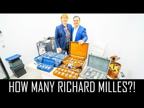 $7MILLION WATCH COLLECTION!! (SO MANY RICHARD MILLE WATCHES)