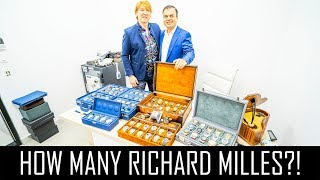 $7million Watch Collection!! So Many Richard Mille Watches