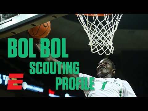Bol Bol preseason 2019 NBA draft scouting video | DraftExpress