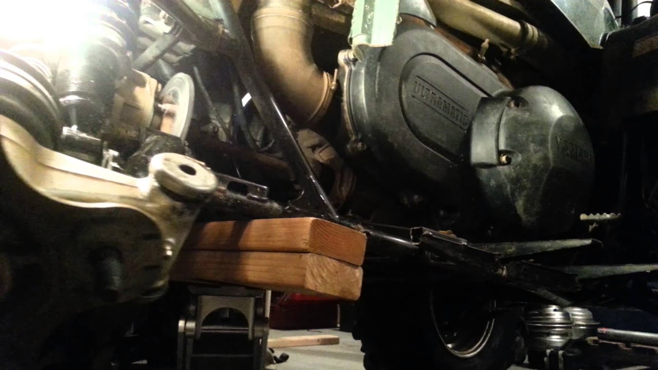 Yamaha Rhino Front Axle Removal