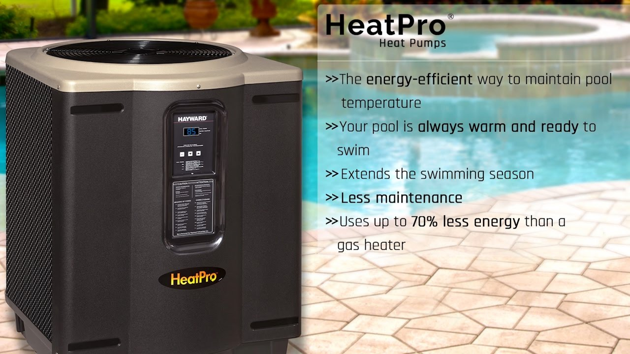 hight resolution of heatpro heat pump heaters in ground pool heaters hayward pool products