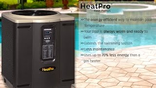 Learn About HeatPro Heat Pumps | Hayward Pool Heaters