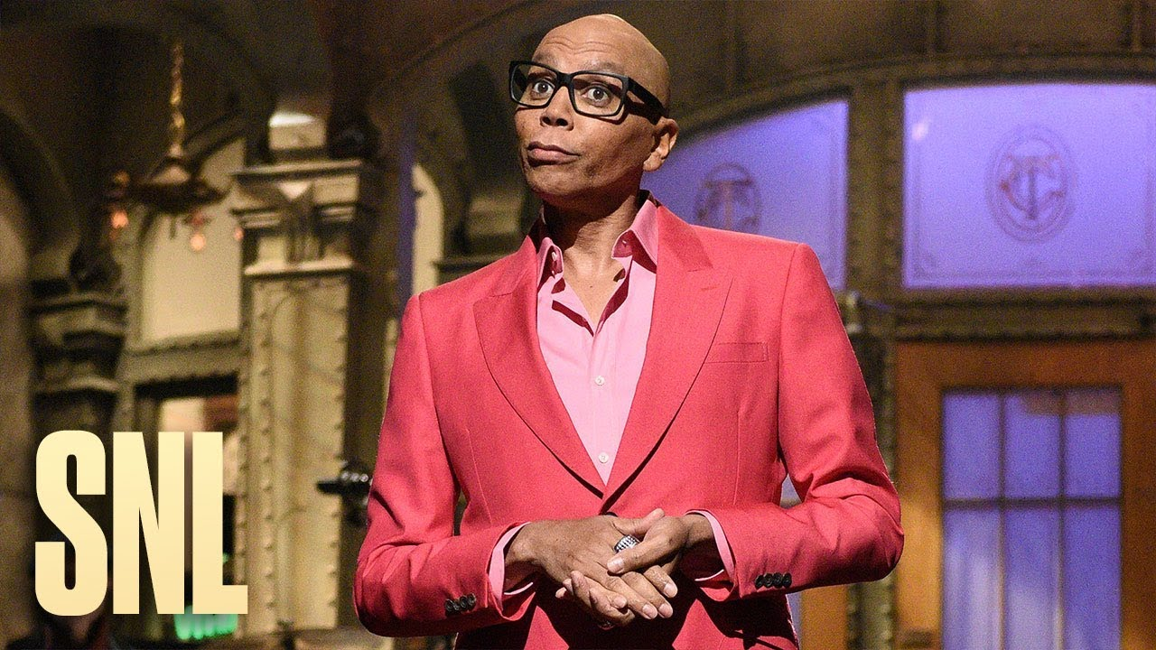 RuPaul didn't do 'SNL' monologue in drag but still showed what ...