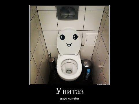 МОИ НАХОДКИ - Унитаз-лицо хозяйки ч1.