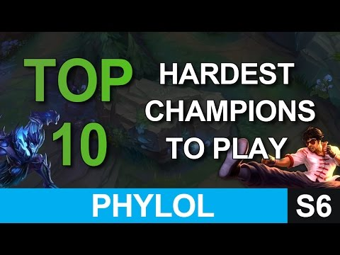 Top 10 Hardest Champions in League of Legends (that are worth mastering)