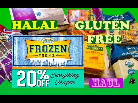 BEST FROZEN MEALS l SPROUTS Grocery HAUL l Gluten Free