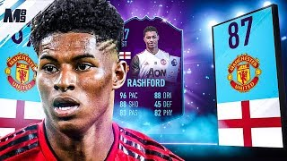 FIFA 19 POTM RASHFORD REVIEW | 87 POTM RASHFORD PLAYER REVIEW | FIFA 19 ULTIMATE TEAM