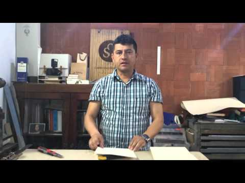#YoCompartoPaz - Encuadernación de libro o bitácora