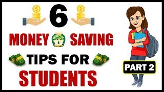 MONEY SAVING TIPS FOR STUDENTS (PART 2) |EASY MONTHLY SAVINGS FROM POCKET MONEY