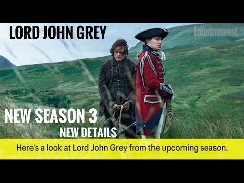 Outlander season 3 -  Lord John Grey