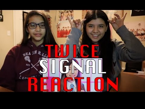 "Thumbnail: TWICE(트와이스) ""SIGNAL"" MV REACTION!!!"