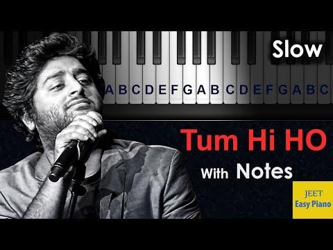 easy piano hindi songs for beginners hindi Tumhi ho