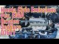 Honda Civic Emissions D16Y7 PCV, EVAP, Oxygen Sensor Locations