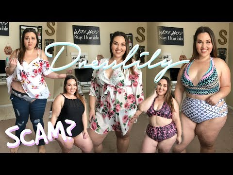 Dress Lily Plus Size HAUL & REVIEW! *NOT SPONSORED* | Sarah Rae Vargas