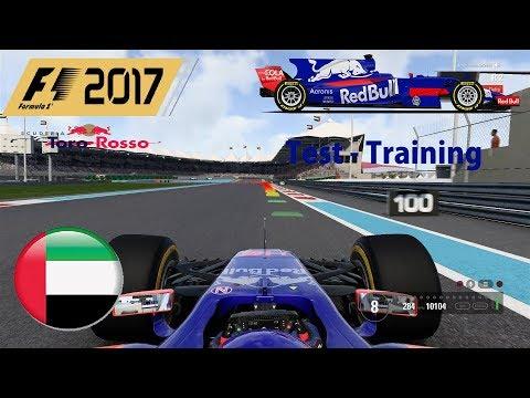 Let's Play F1 2017 Online #001 Test Abu Dhabi