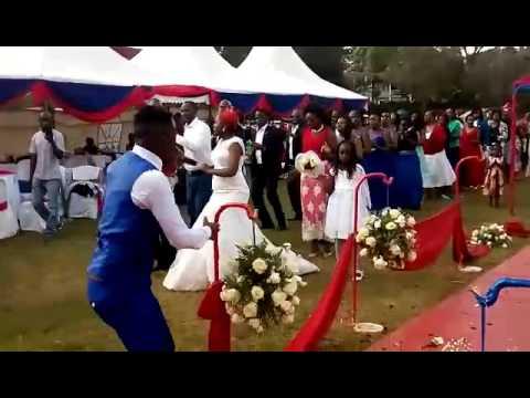 Mc Acts turning up a Kamba wedding to a dancing pa