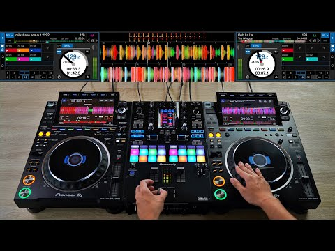PRO DJ DOES A DOPE MIX ON THE CDJ-3000 & DJM-S11 - Creative DJ Mixing Ideas for Beginner DJs