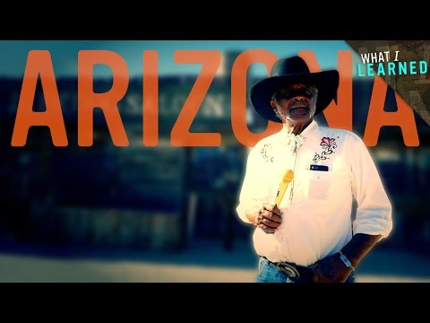 What I Learned in Arizona - Gold Teeth & Black Cowboys