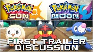 Pokemon Sun and Moon First Trailer - Starters, Alola Region, Legendaries and Theories!