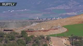 Tanques turcos disparan contra objetivos kurdos en Afrín, Siria