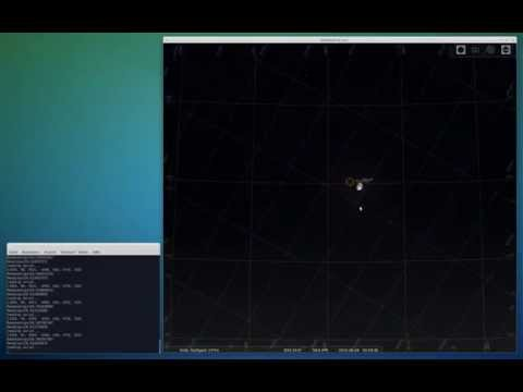 Telescope direction from geomagnetic field