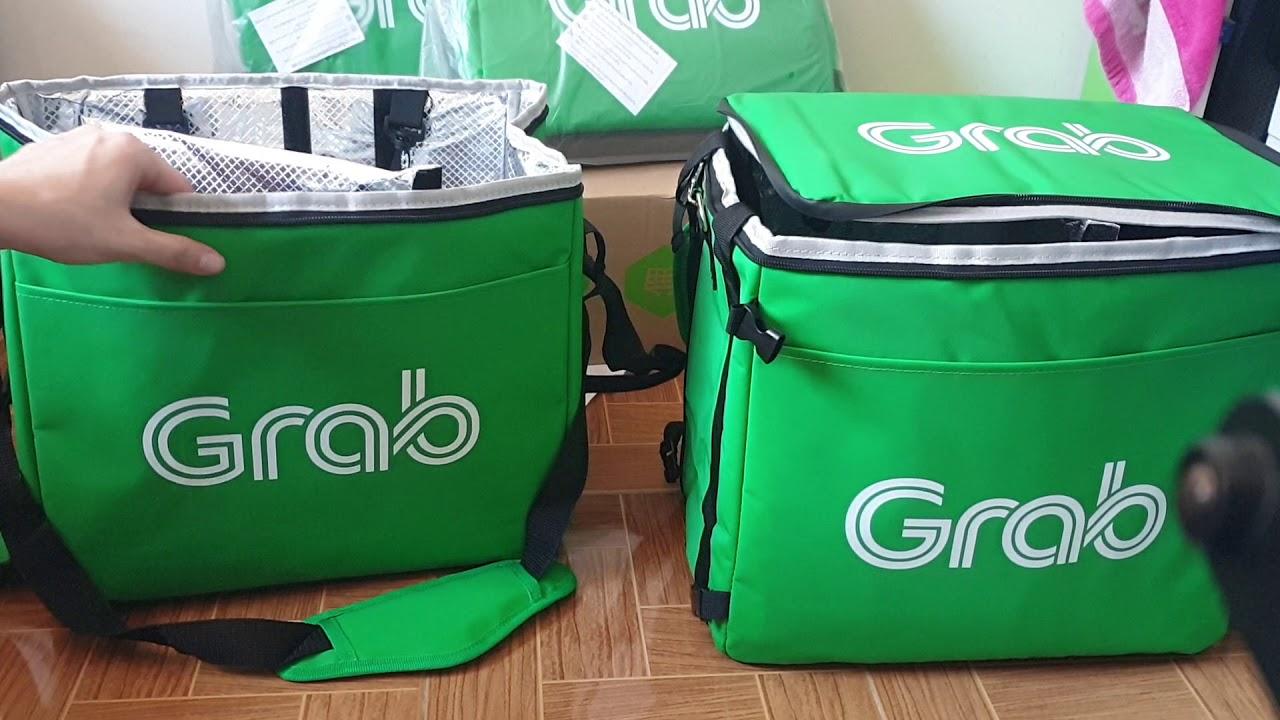 กระเป๋า Grab Food V1 vs v2