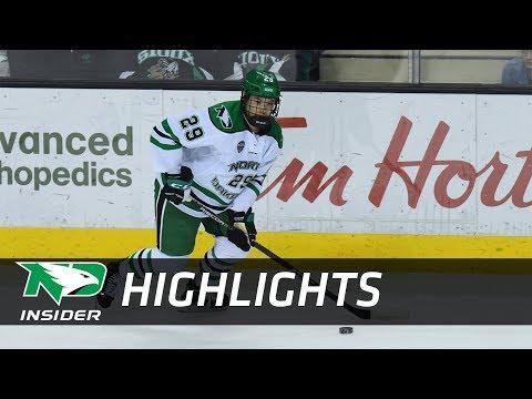 UND Hockey - Highlights: UND vs. St. Cloud State - 3/2/18