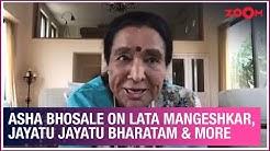 Asha Bhosle on keeping in touch with Lata Mangeshkar, unpaid royalties, Jayatu Jayatu Bharatam