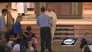 Raw Video: James Foley memorial Mass