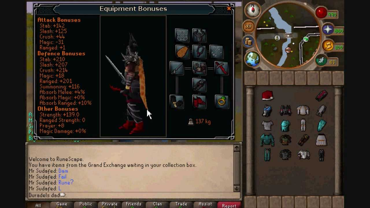 New Runescape Armour Update Youtube