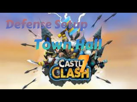 Castle Clash-Defense Strategy For Town Hall Level 7