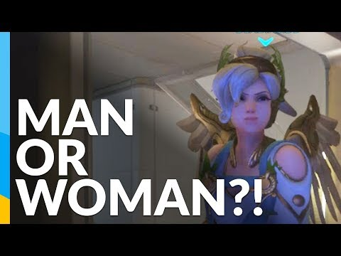 Is that a man or a woman? Godlike voice actor | Overwatch: Competitve