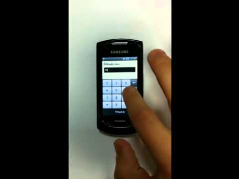 Simlock Samsung GT S5620 - jak odblokować telefon?
